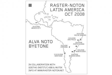 latin america tour 2008